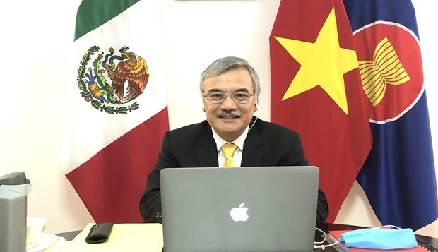 ASEAN, Mexico exchange experience in COVID-19 response hinh anh 1