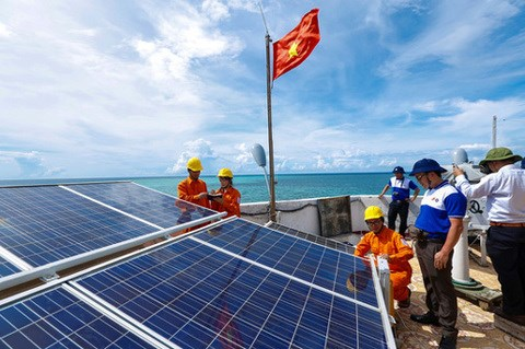 EVN SPC invests in solar power plant on Con Dao hinh anh 1