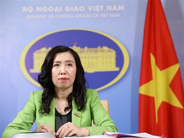 Vietnam condemns cyberattacks in all forms: Foreign Ministry spokeswoman hinh anh 1