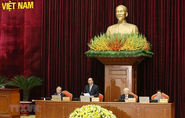 Party Central Committee handles personnel matters on fourth working day of 12th plenum hinh anh 1