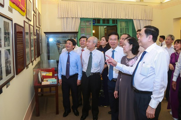 Museum of Vietnam Fatherland Front inaugurated hinh anh 1
