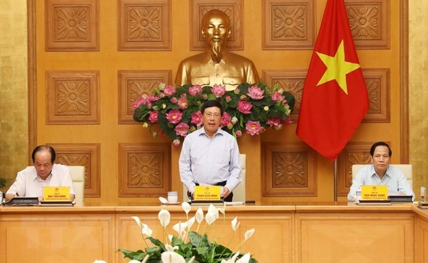 Vietnam steps up preparations for 36th ASEAN Summit hinh anh 1
