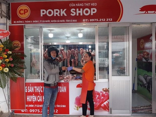CP Vietnam builds largest pig slaughter plant in northern region hinh anh 1