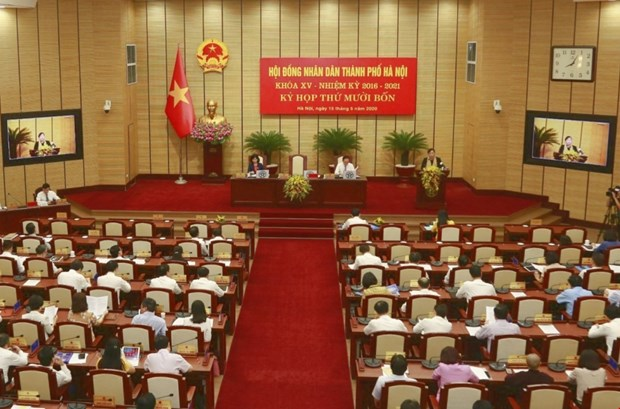 Hanoi discusses developing economy after COVID-19 hinh anh 1