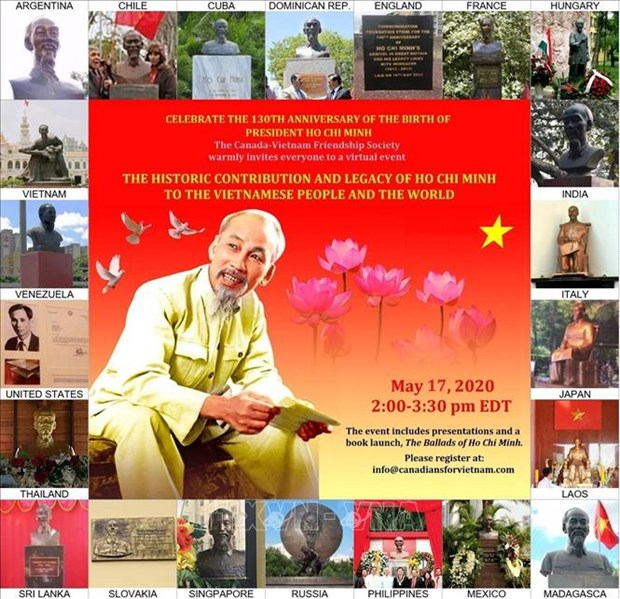 Canada seminar features President Ho Chi Minh hinh anh 1