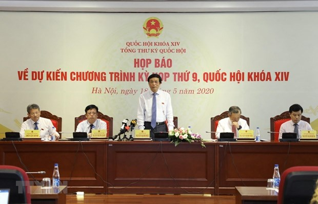Ninth session of 14th National Assembly to open on May 20 hinh anh 1