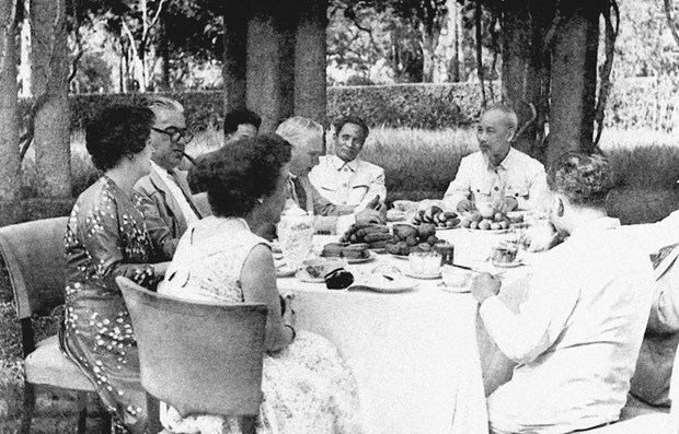 President Ho Chi Minh's thought on diplomacy – valuable heritage hinh anh 1