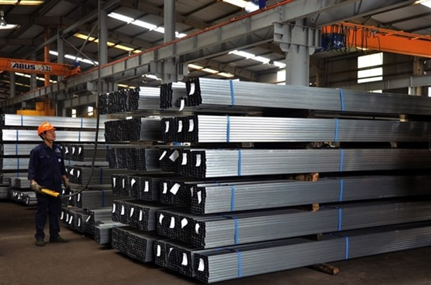 Steel producers enjoy profit growth despite pandemic hinh anh 1