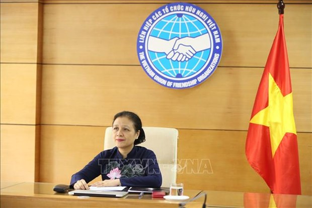 ASEAN, China's friendship organisations hold video meeting on COVID-19 hinh anh 1