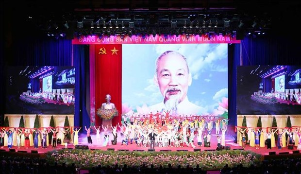 International parties, friends offer congratulations on President Ho Chi Minh's birthday hinh anh 1