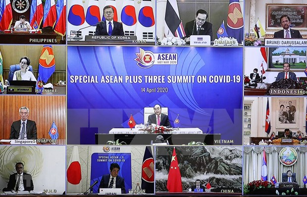 ASEAN's efforts against COVID-19 lauded hinh anh 1