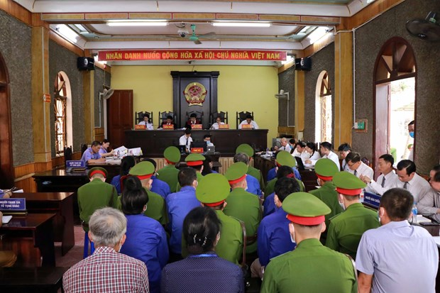 12 defendants stand trial in Son La exam scandal hinh anh 1