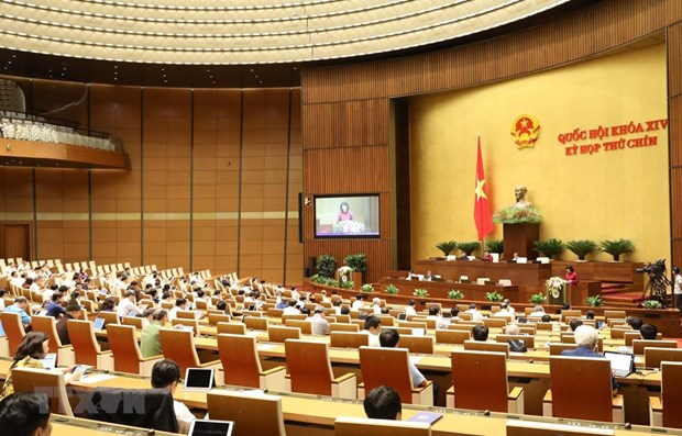 NA looks into several draft laws on May 21 hinh anh 1