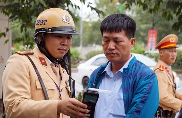 Nearly 101,470 traffic violation cases handled in one week of stricter inspections hinh anh 1