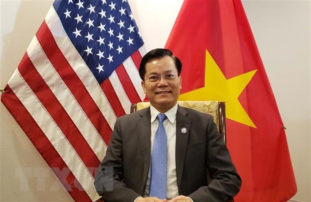 Vietnam, US forge comprehensive partnership hinh anh 1