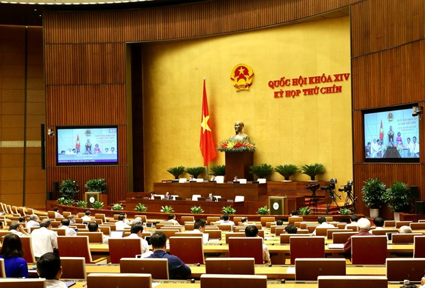Legislators scrutinise two draft laws, a draft resolution on May 23 hinh anh 1