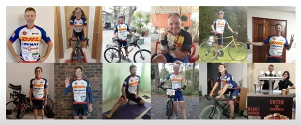 Annual charity bicycle ride raises 27,000 USD hinh anh 1