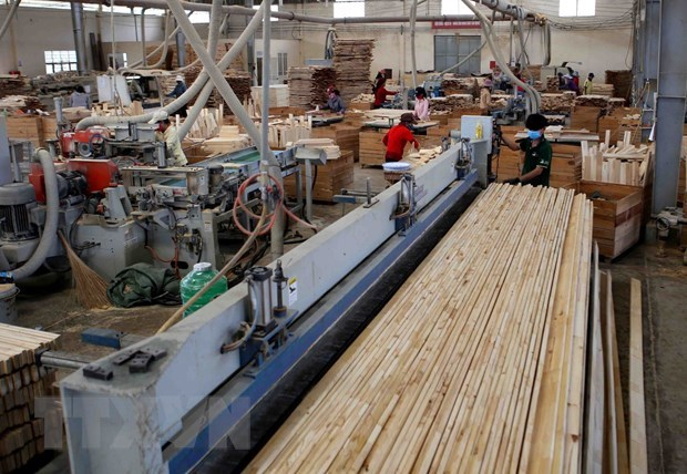 Wood exports grow thanks to businesses' activeness hinh anh 1