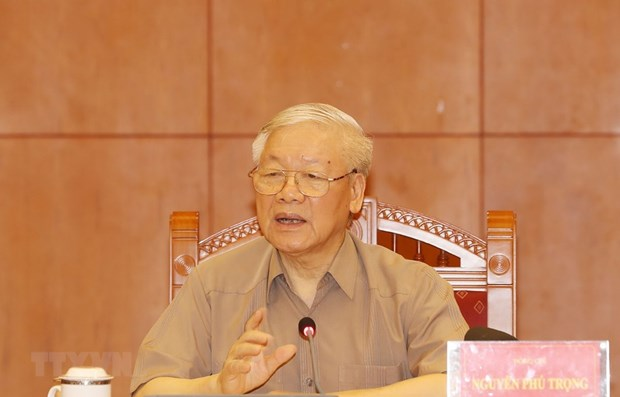 Corruption fight must put common interest above all: Top leader hinh anh 1