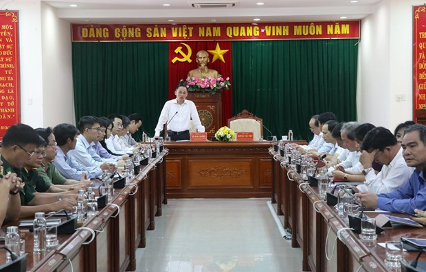 Phu Yen conference presents information on external affairs, East Sea hinh anh 1