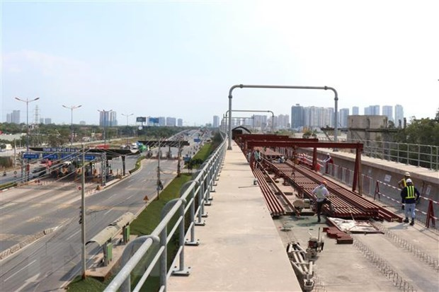 HCM City steps up construction of Ben Thanh - Suoi Tien metro line hinh anh 1