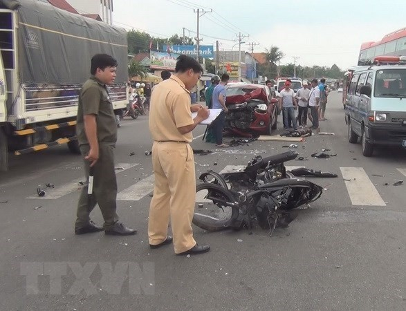 Traffic accidents down in first five months of 2020 hinh anh 1