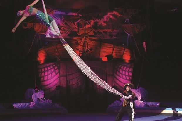 Circus performance to feature parrots for first time hinh anh 1