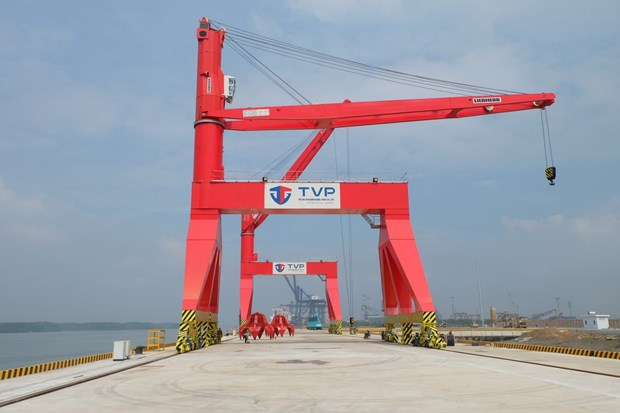 Over 115.7 million USD poured into upgrading Thi Vai int'l port hinh anh 1