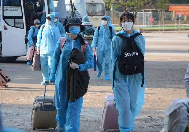 Vietnam goes through 45 days without community infections hinh anh 1