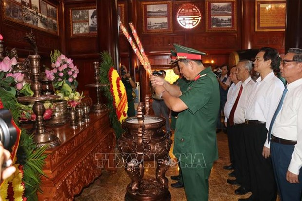 Can Tho inaugurates memorial site for late President Ho Chi Minh hinh anh 1
