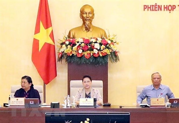 NA Standing Committee's 45th session wraps up hinh anh 1