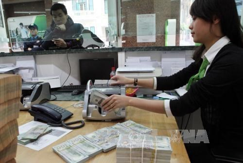 Reference exchange rate revised down 5 VND hinh anh 1