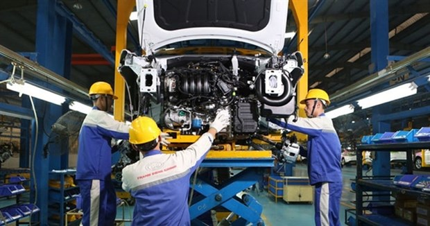 Industrial production index up 11.2 percent in May hinh anh 1