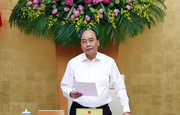 PM requests striving for highest possible socio-economic targets in 2020 hinh anh 1