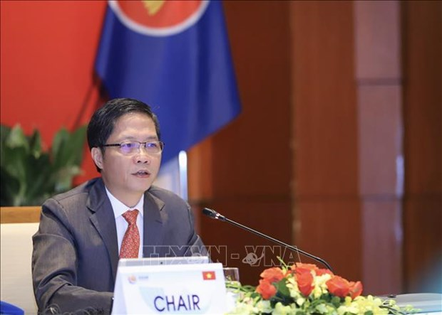 Regional ministers seek ways to facilitate ASEAN trade hinh anh 1