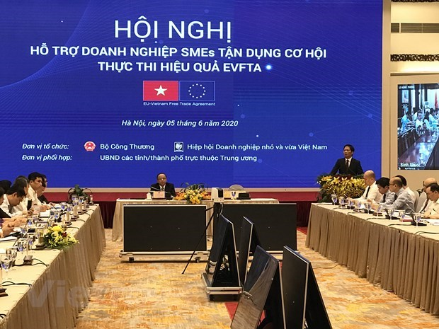 SMEs assisted to tap into opportunities from EVFTA hinh anh 1