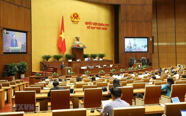 Lawmakers expected to adopt resolutions ratifying EVFTA, EVIPA hinh anh 1