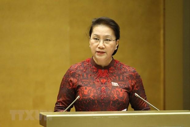Legislature to vote on resolutions ratifying EVFTA, EVIPA hinh anh 1