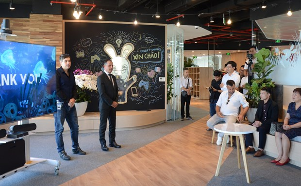 Major French video game company opens office in Da Nang hinh anh 1