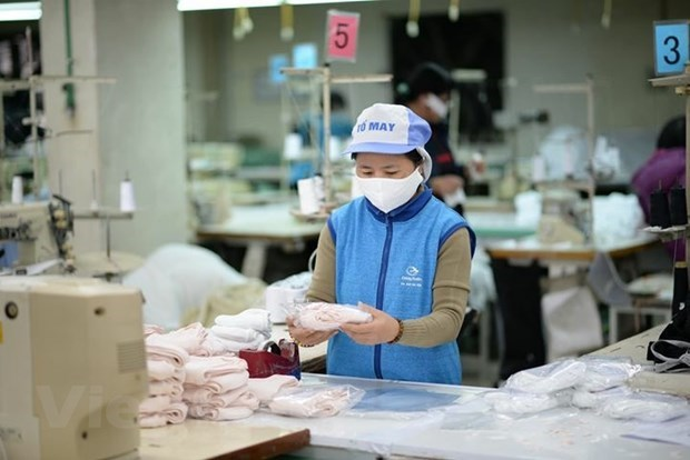 Vietnamese firm exports 1 million masks to US hinh anh 1