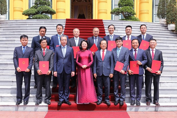 New ambassadors tasked to tighten Vietnam's relations with partners hinh anh 1