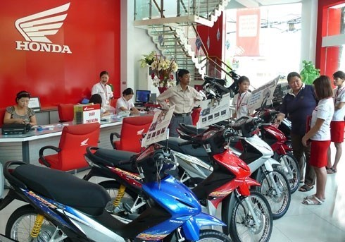 Honda Vietnam's motorcycle, auto sales shoot up in May hinh anh 1
