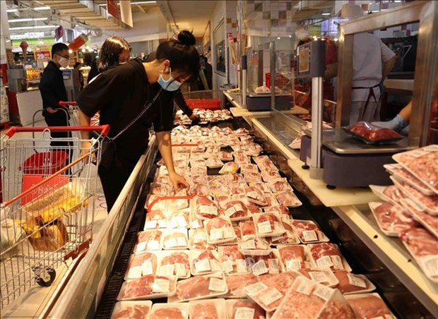 Pork imports rise nearly 300 pct in five months hinh anh 1