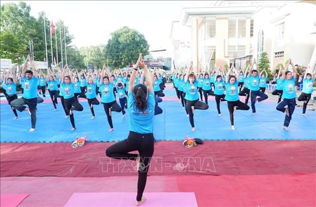 International Day of Yoga to be held in Quang Ninh hinh anh 1