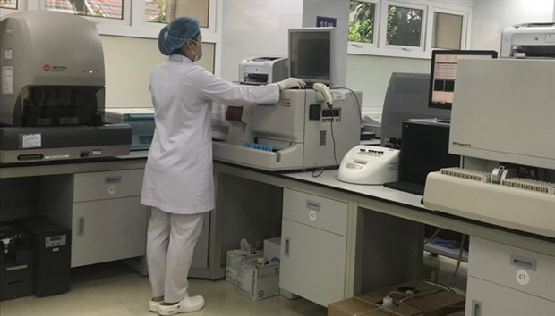 Hospital's hematology department receives ISO certification hinh anh 1