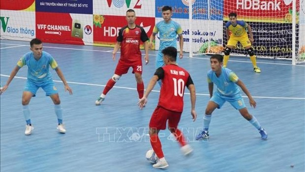 National Futsal Championship 2020 opens hinh anh 1