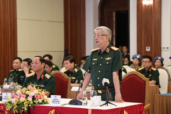 Ensuring safety for Vietnamese peacekeepers top priority amid COVID-19: Deputy Defence Minister hinh anh 1