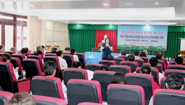 Japanese NGO funds organic agriculture project in Dong Thap hinh anh 1