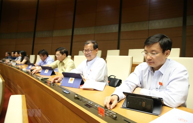 Revised Enterprise Law goes through National Assembly hinh anh 1