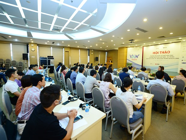 Businesses seek to optimise opportunities from EVFTA amid COVID-19 hinh anh 1
